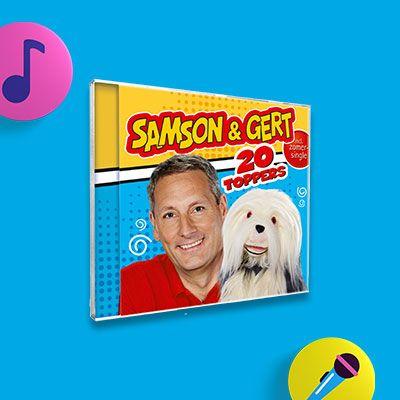 Meezingen & dansen met de nieuwste Samson & Gert cd