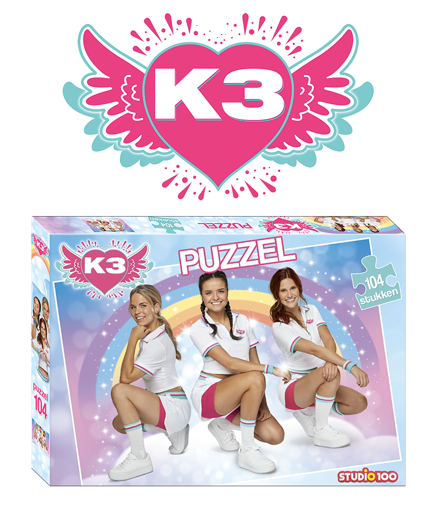 Nu gratis puzzel van K3 bij aankoop van €15 aan K3 producten