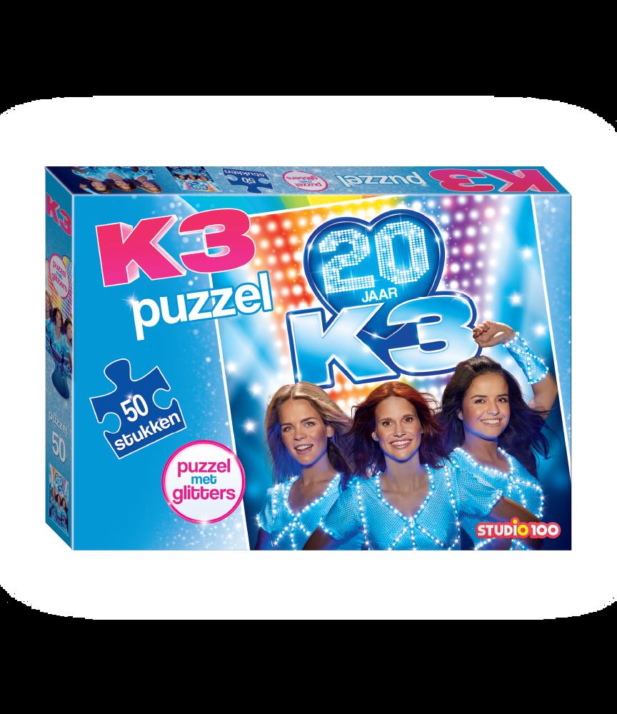 Gratis puzzel bij aankoop vanaf €15 aan K3 producten