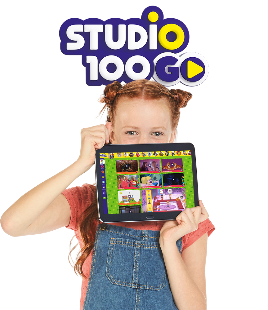 Download snel de gratis Studio 100 GO app