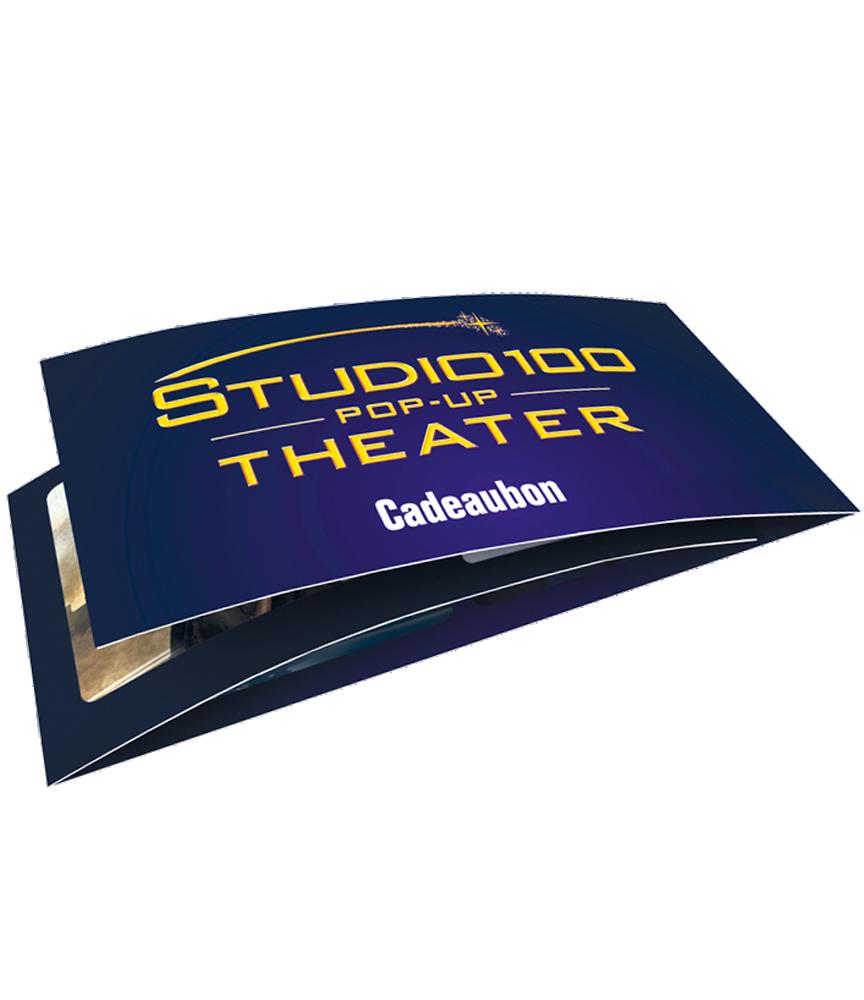 Doe een emotie cadeau met de Studio 100 Pop-Up Cadeaubon!
