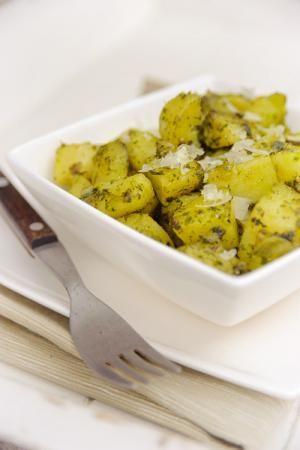 Gestoofde Peterselie Aardappelen