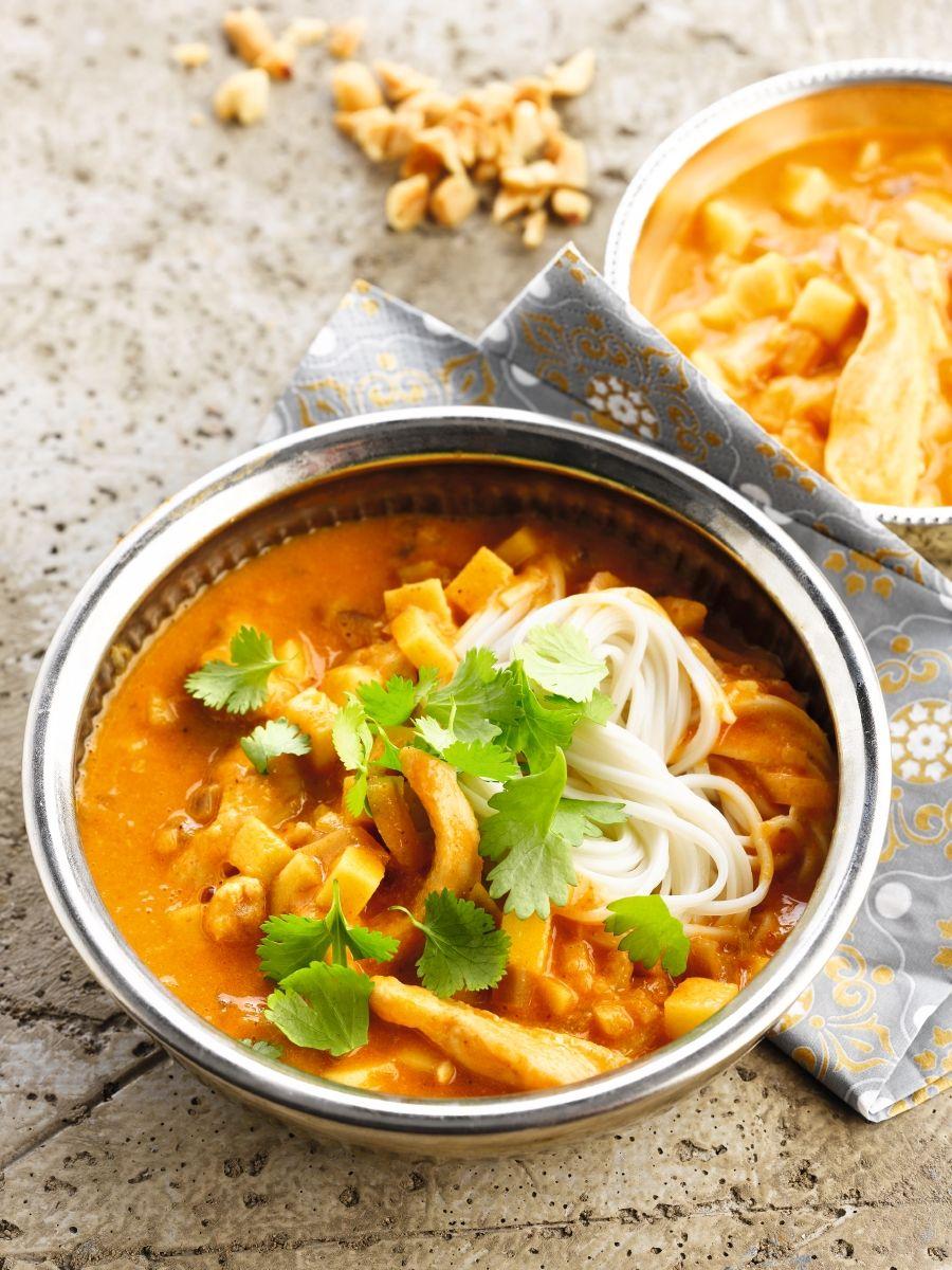 Curry met een frisse toets
