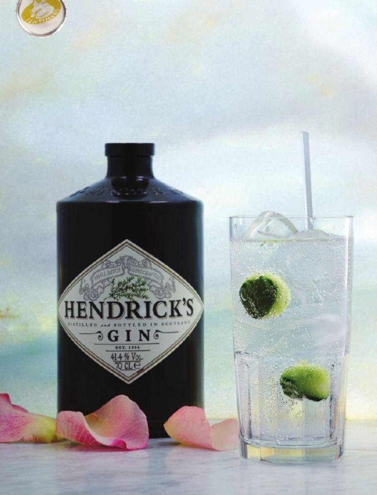 Hendrick's Gin en Fentimans Tonic