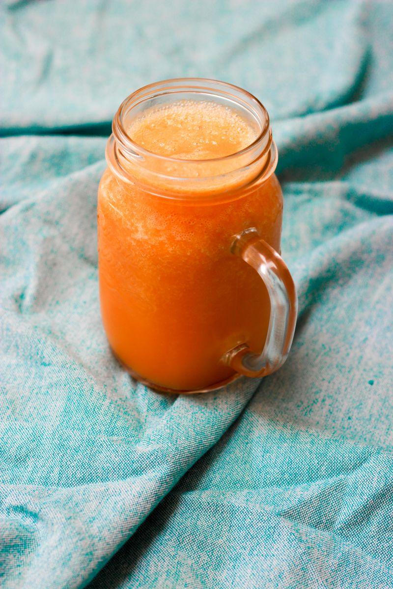 Wortel-ananassmoothie
