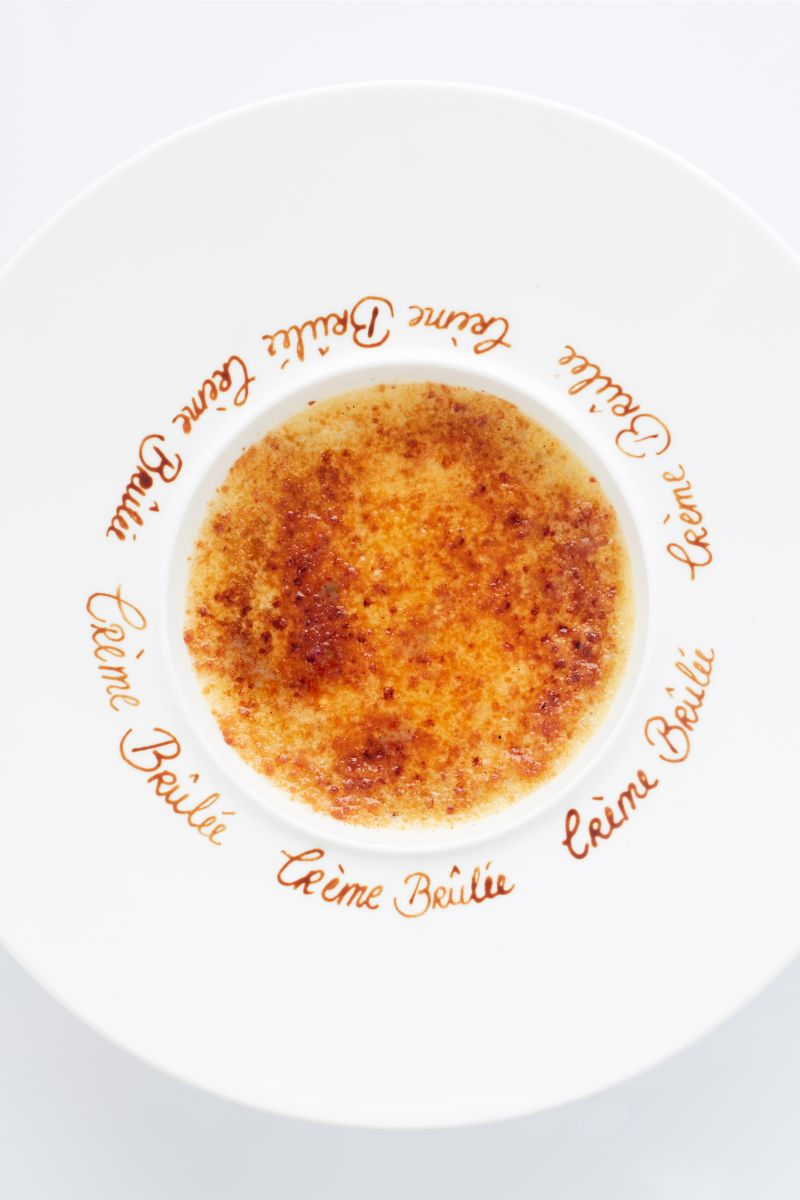 Crème brûlée van Roger van Damme