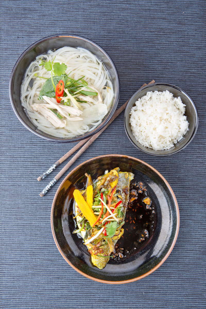 Pho Gà (rijstnoedelsoep met kip)