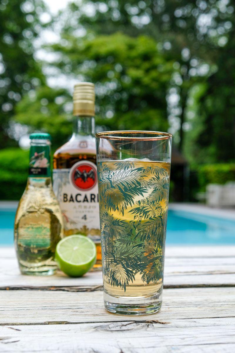 Bacardi 4 Ginger Ale
