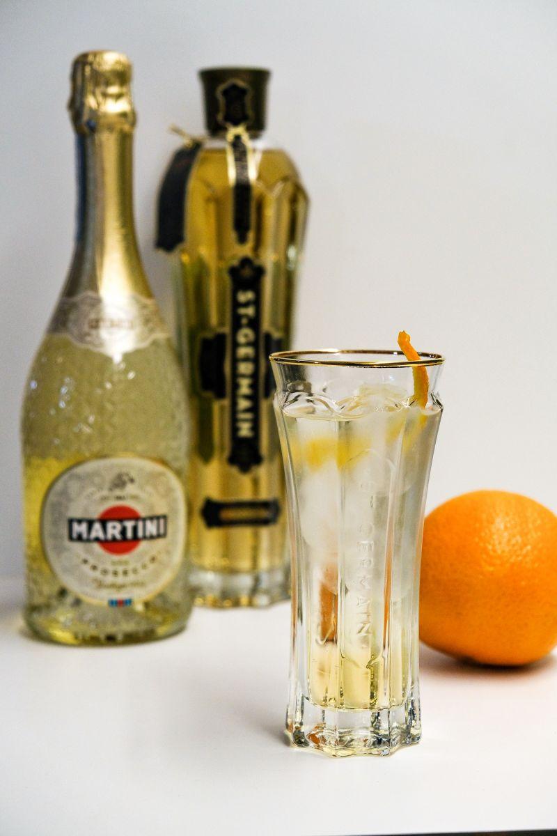 Martini Saint Germain Spritz