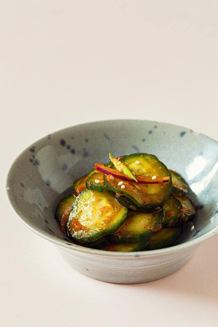 Komkommerkimchi