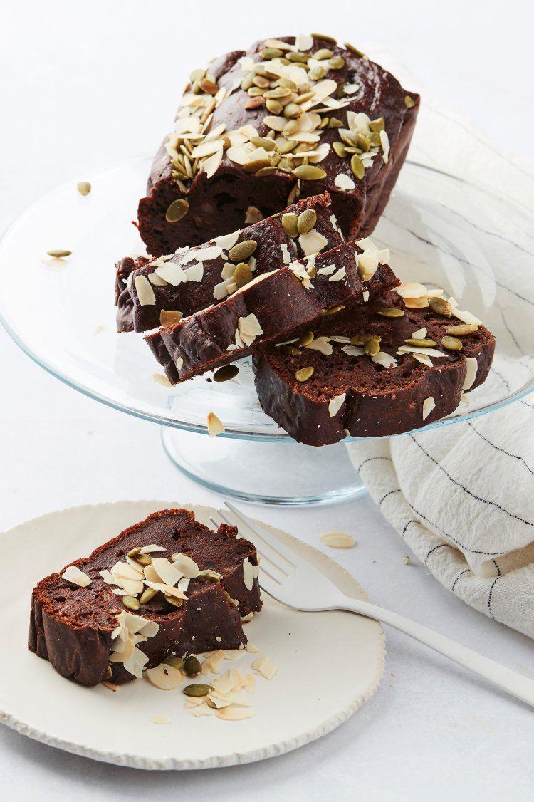 Chocolade-bananencake