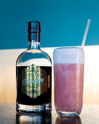 Sloeberry Gin Fizz
