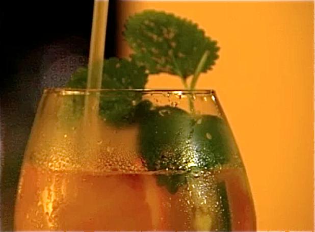 Summer rum punch