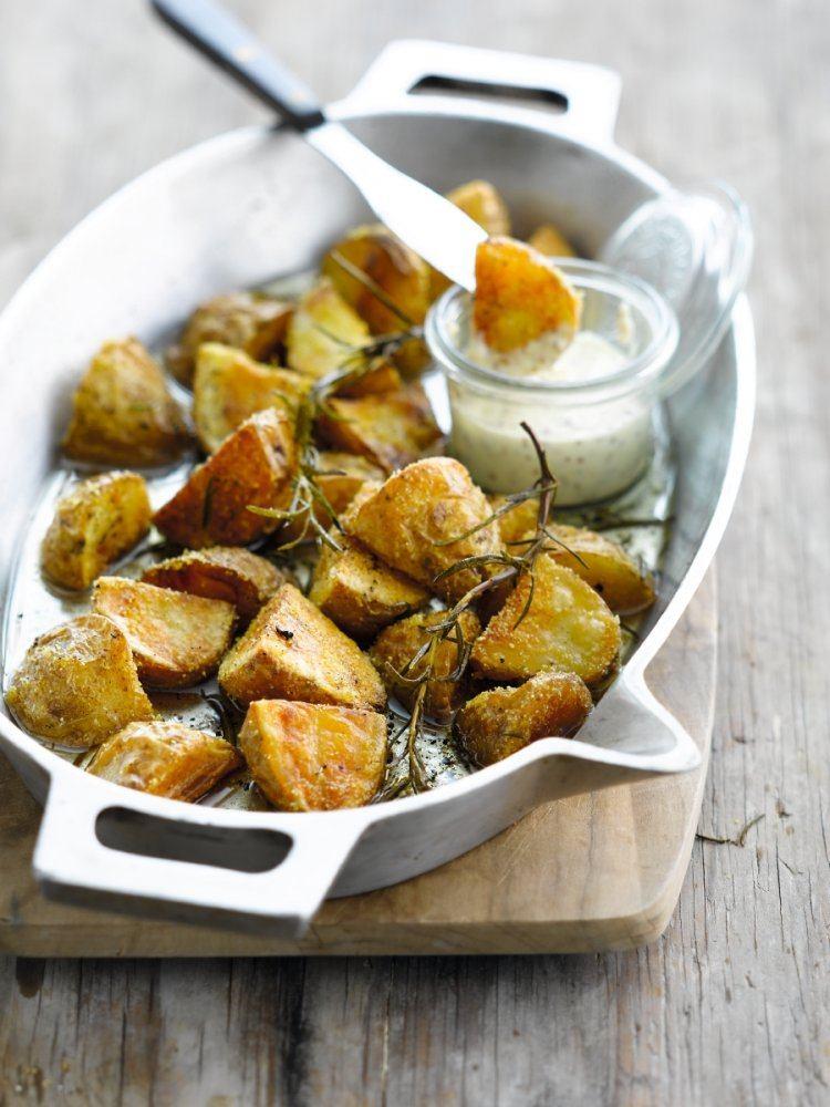 Geroosterde aardappelen met ganzenvet