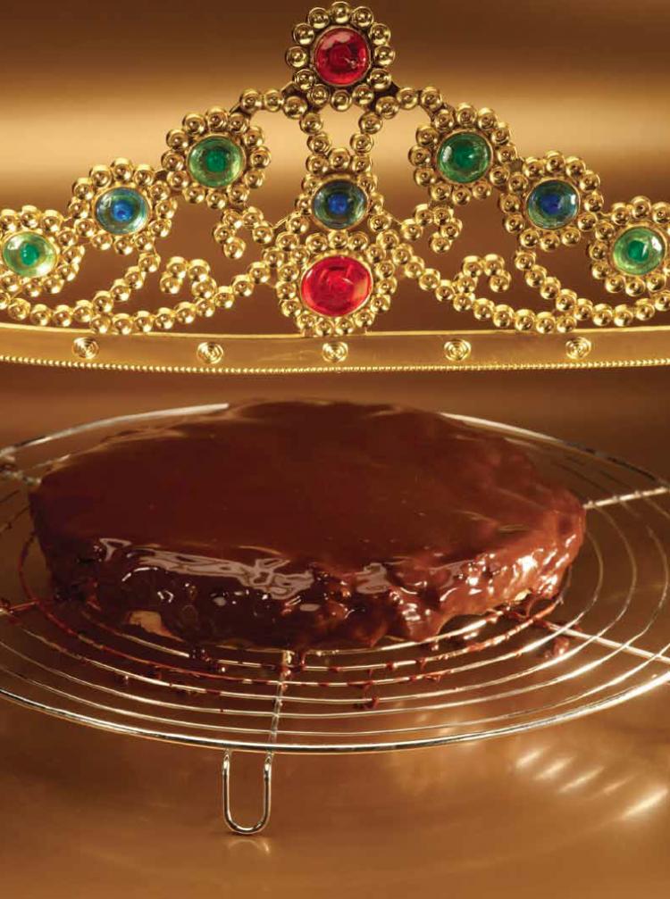Chocolade tarte tatin