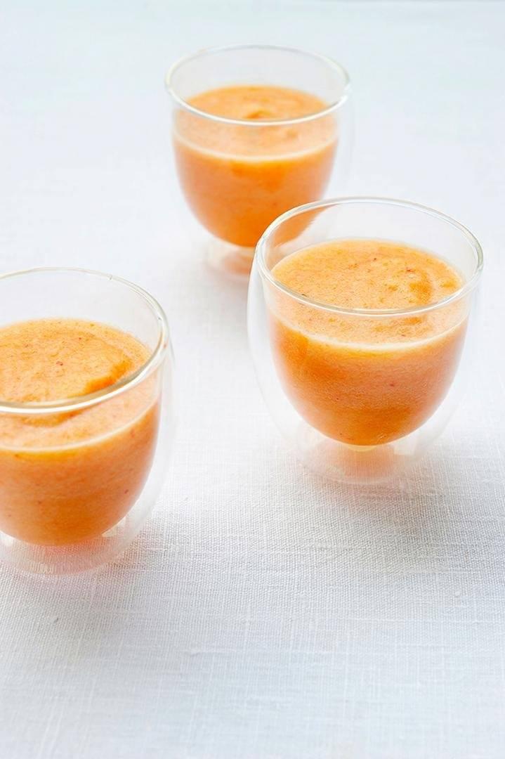 Appel-wortel smoothie