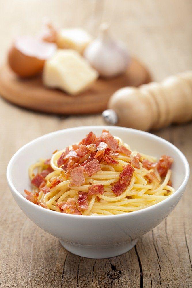 Peppe's spaghetti alla carbonara
