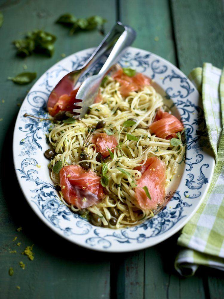 Spaghetti met citroenboter