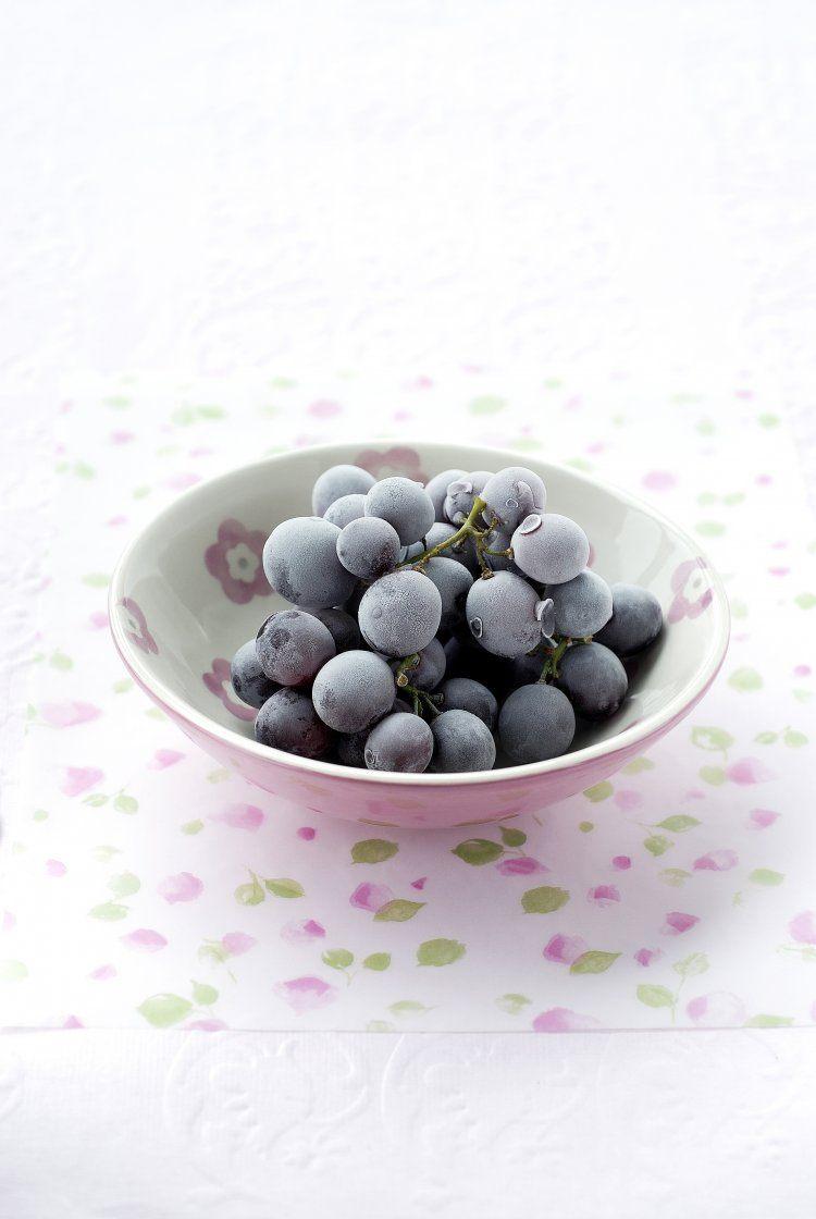 Bevroren druifjes