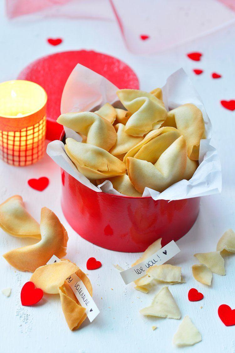 Romantische gelukskoekjes