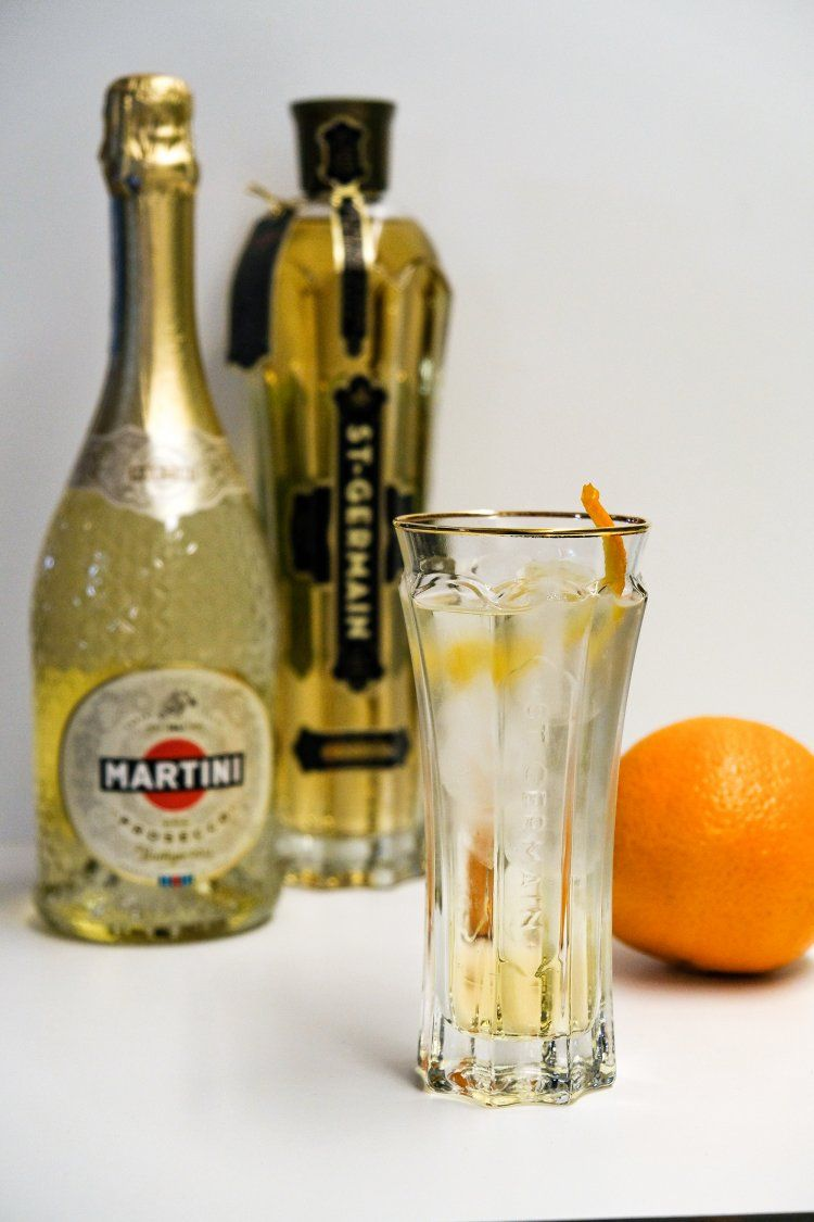 Martini Saint Germain Spritz