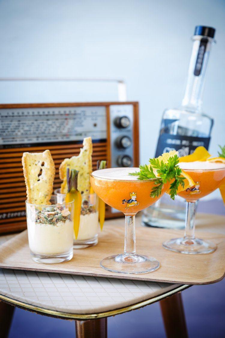 Bugs Bunny & Crème van wortelen en geitenkaas