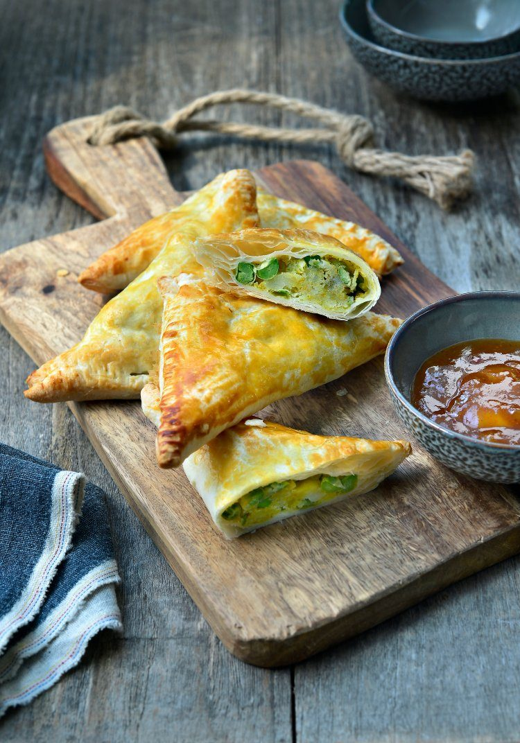 Samosa's met curry