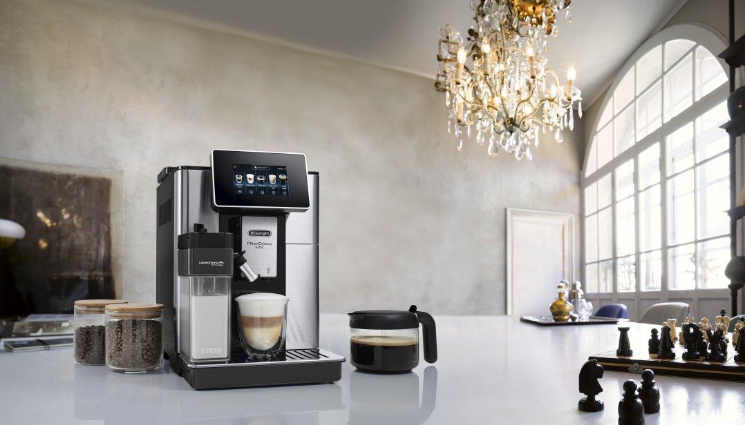 Win een De'Longhi PrimaDonna Soul volautomatische espressomachine