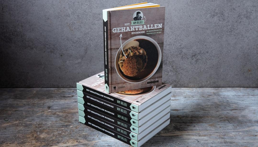 Win het Wim Ballieu gehaktballen kookboek!