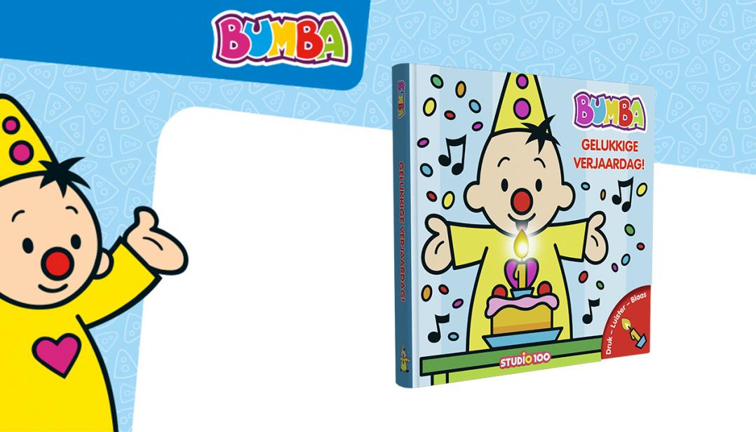 Win een Bumba verjaardagsboek met muziek!
