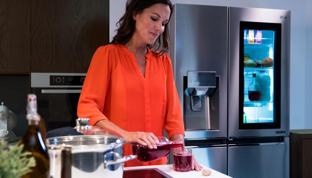 Win een LG Instaview Door-in-Door koelkast