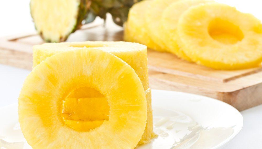 Ananas schoonmaken