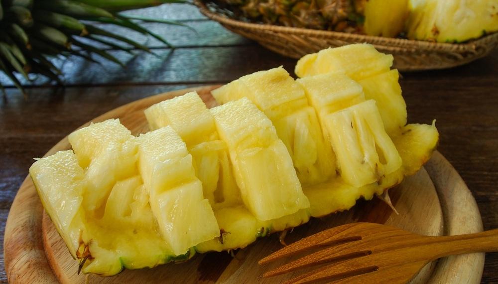 Ananas versnijden