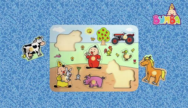 Win een Bumba houten puzzel!