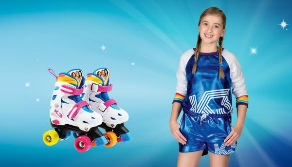 Win rolschaatsen van K3!