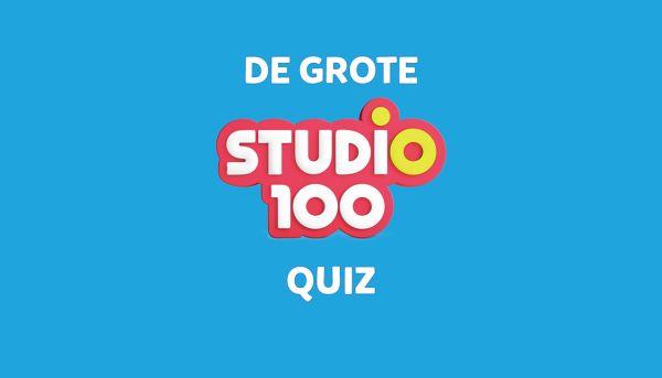 Kan jij de vragen beantwoorden van de Studio 100 quiz?