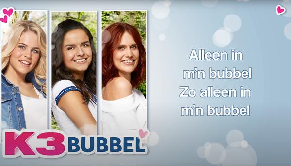 Ken jij de tekst van 'Bubbel' al?