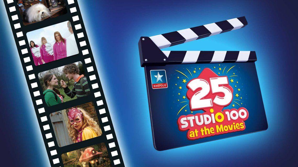 Beleef Studio 100 filmklassiekers op het grote scherm!