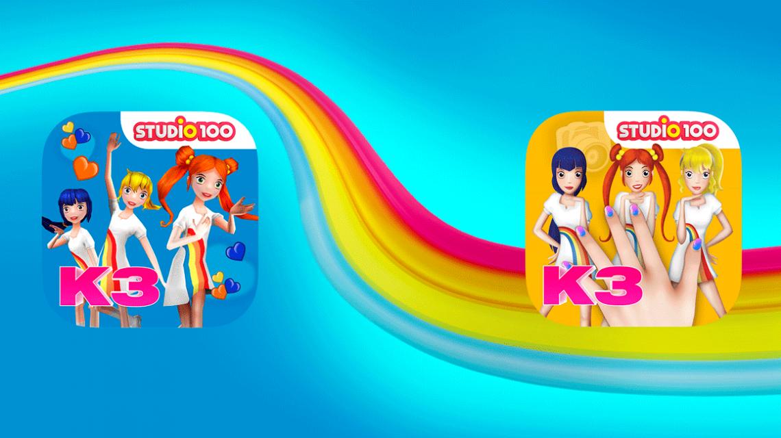 Speel mee met de nieuwe K3 apps!