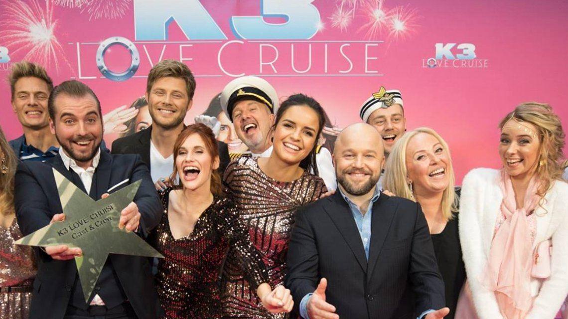 100.000 bezoekers voor K3 Love Cruise