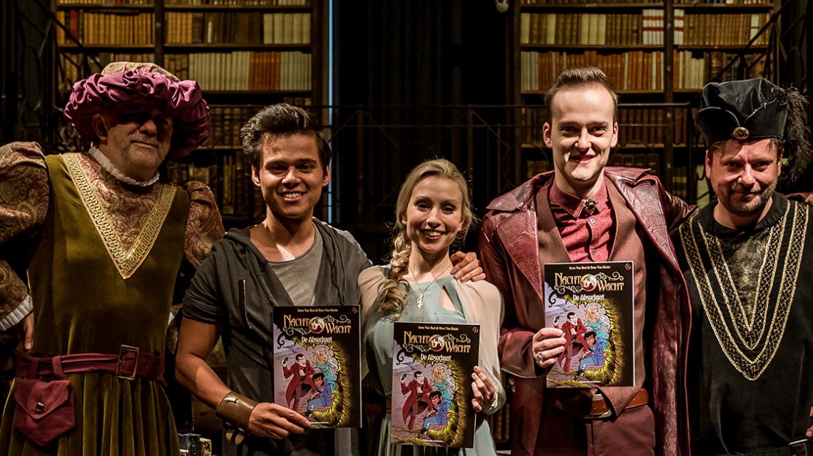 De eerste Nachtwacht strip 'De Absorbant' is nu verkrijgbaar!