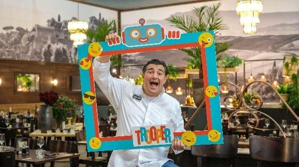 Ouderraad Vrije Basisschool Opitter is de winnaar van de Trooper Pasta Festa met njam!-chef Peppe Giacomazza!