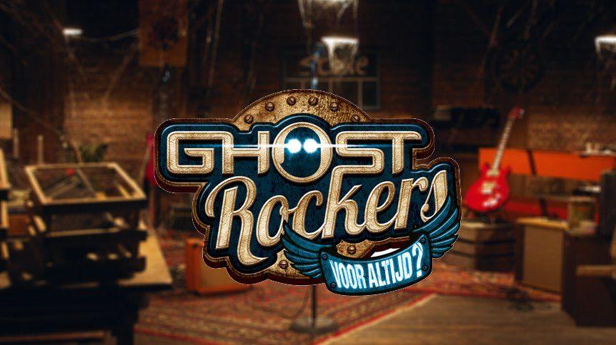 Bekijk hier het logo van de allereerste Ghost Rockers film!