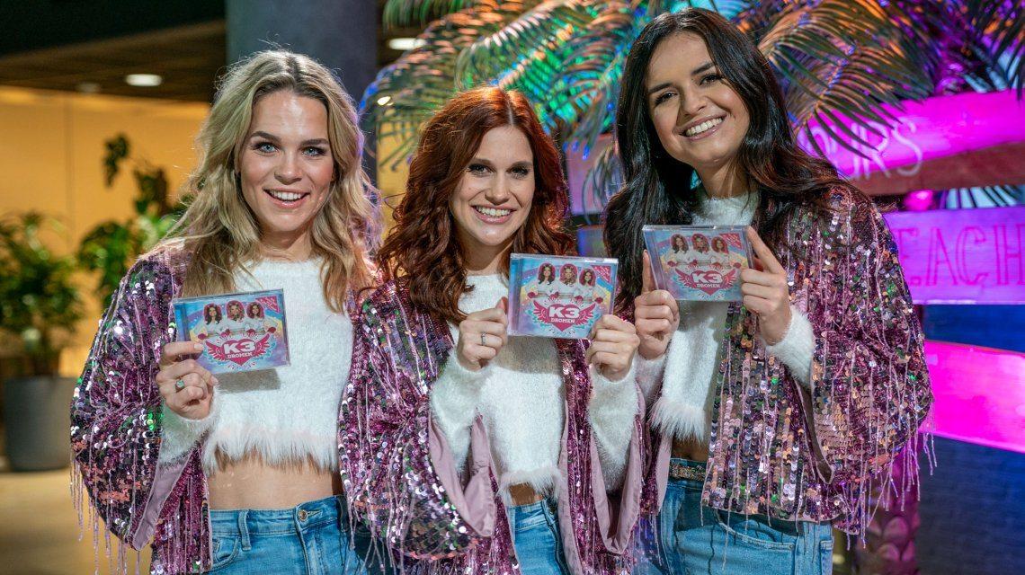 K3 lanceert nieuw album Dromen bij Radio 538: Weekend Wietz