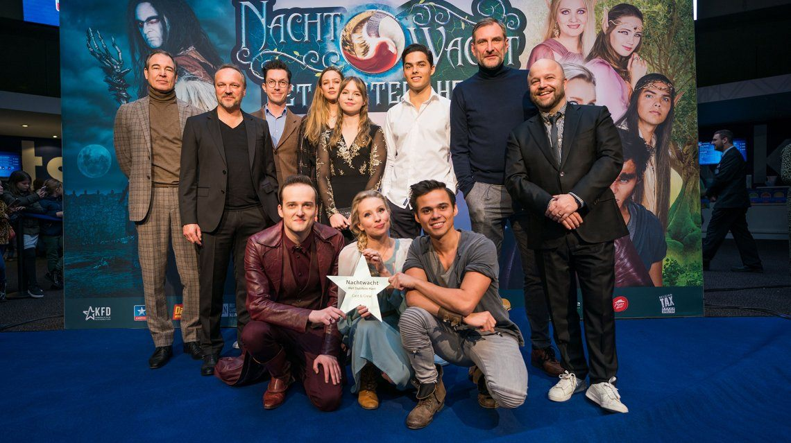 Vandaag ging de tweede bioscoopfilm van Nachtwacht in première